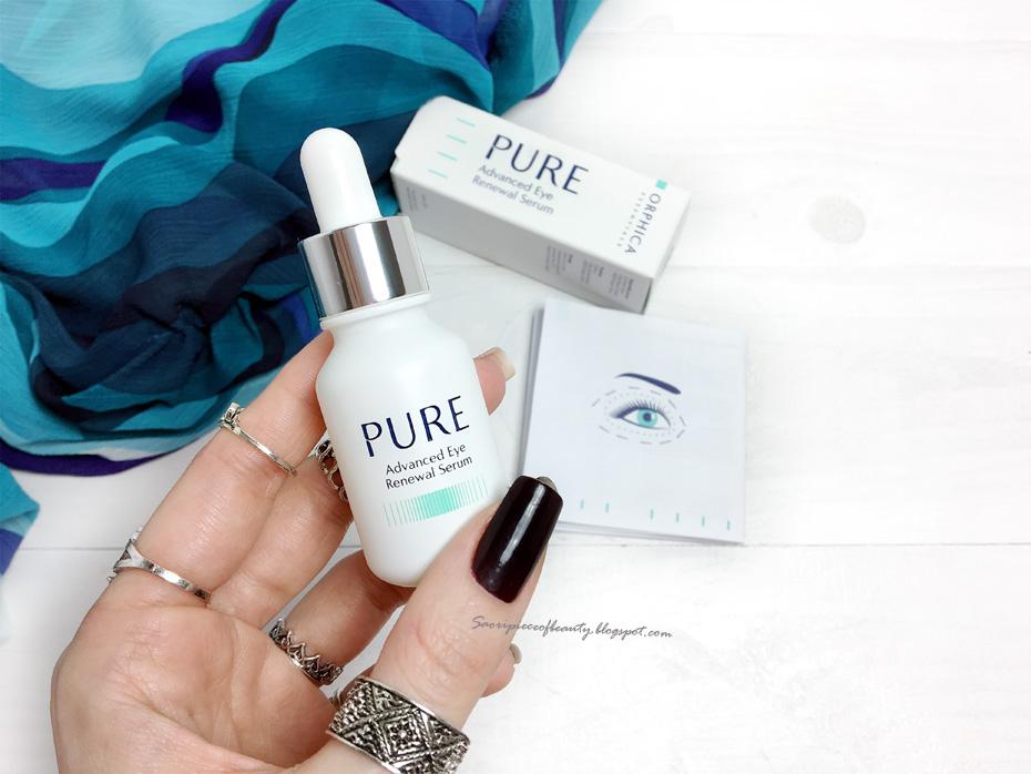 Увлажняющая сыворотка для кожи под глазами PURE от Orphica / блог A piece of beauty