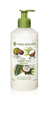 Leche Corporal 300 ml SENSUAL Coco línea Plaisirs Nature Yves Rocher