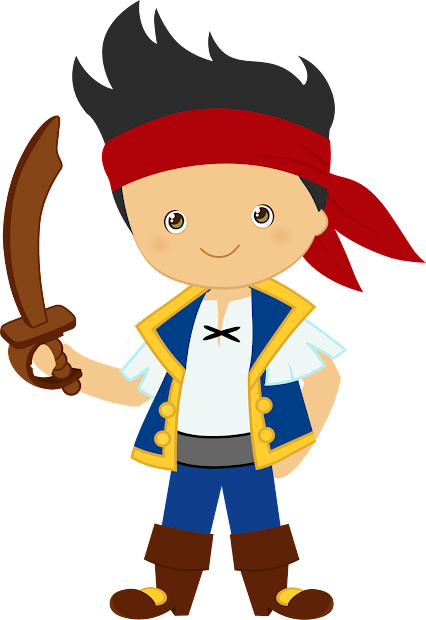 Jake And Neverland Pirates Clipart. - Fiesta In