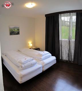 Interior de Habitación doble del Húsavík Cape Hotel