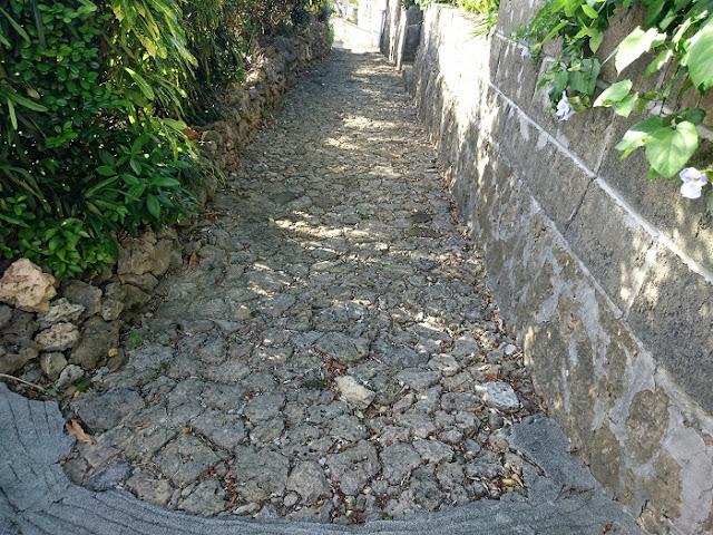 字小禄の石畳の写真