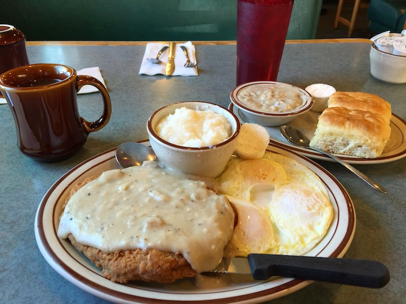 Country fried steak at Omar's Hi-Way Chef in Tucson