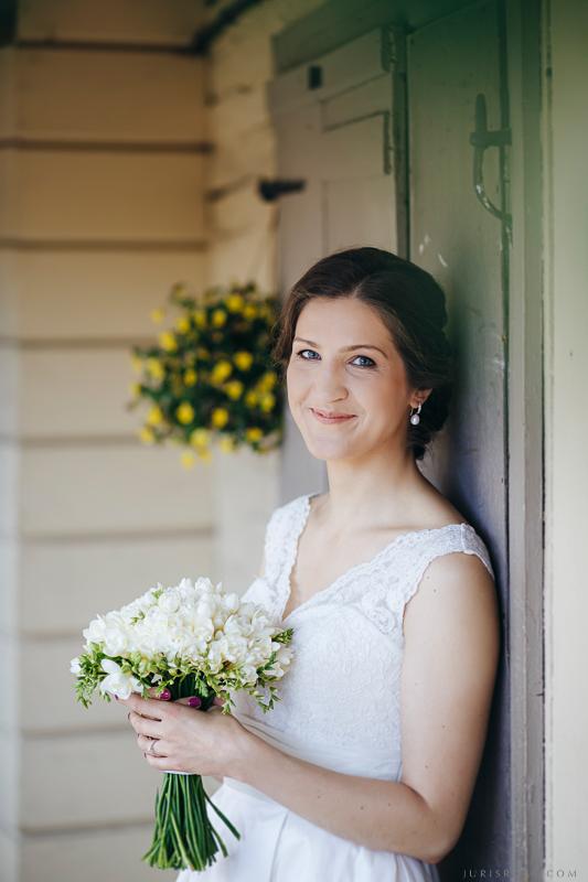 līgavas portrets
