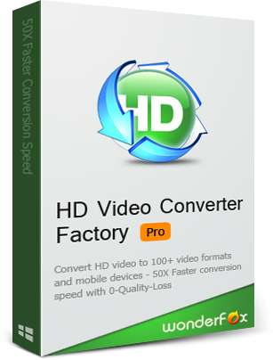 WonderFox HD Factory Pro v12.5 Full (Convertidor de Vídeo)