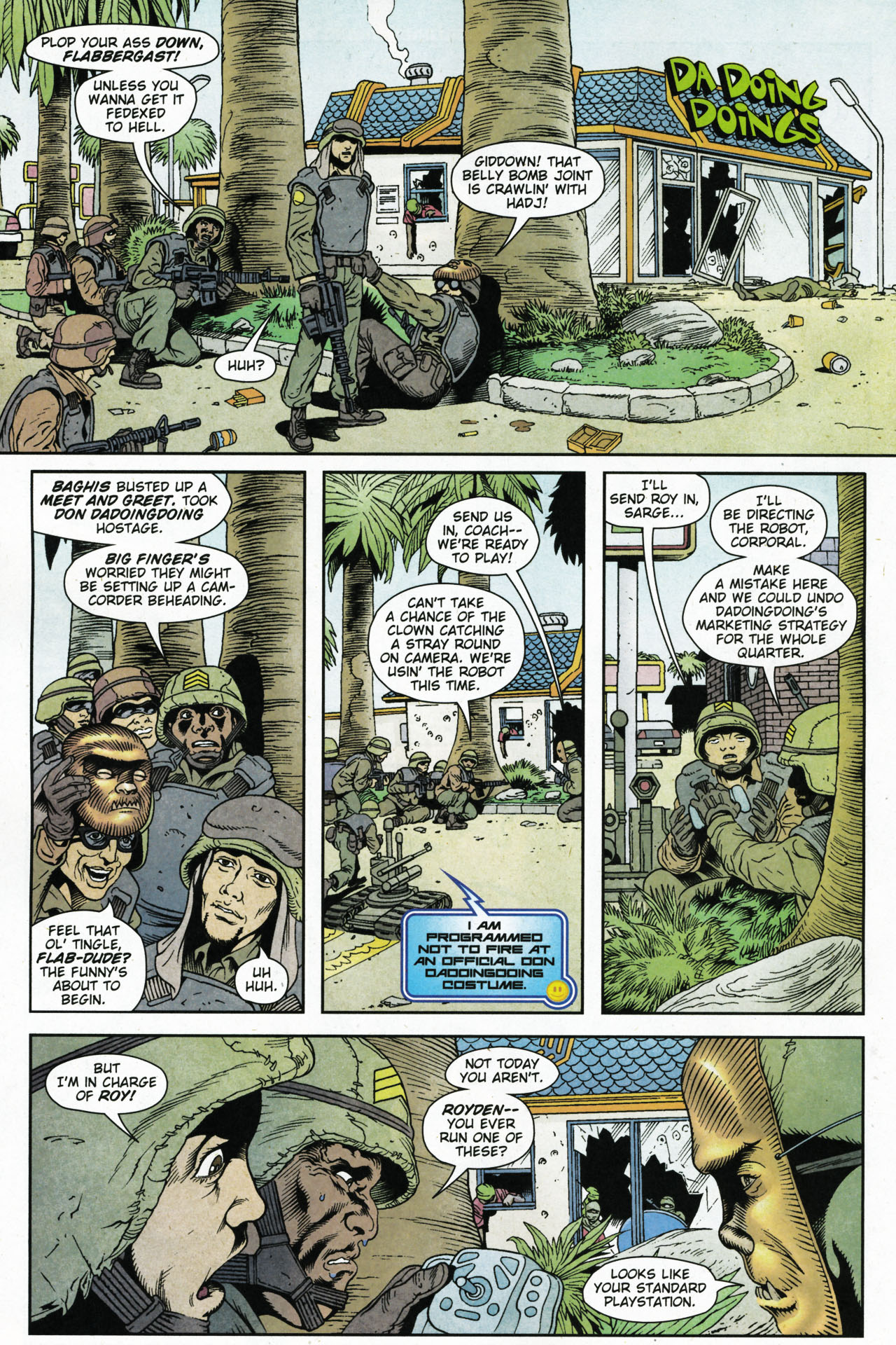 Read online Army @ Love comic -  Issue #4 - 14