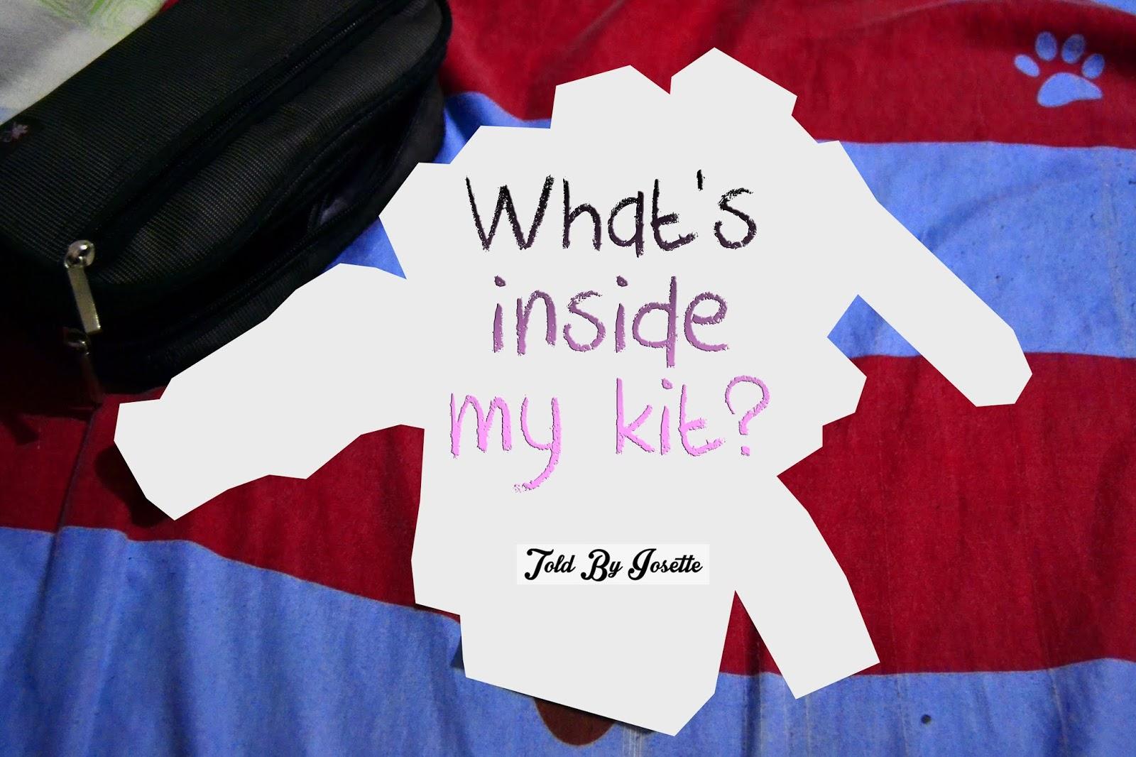 A Sneak Peek of What's Inside my Everyday Kit