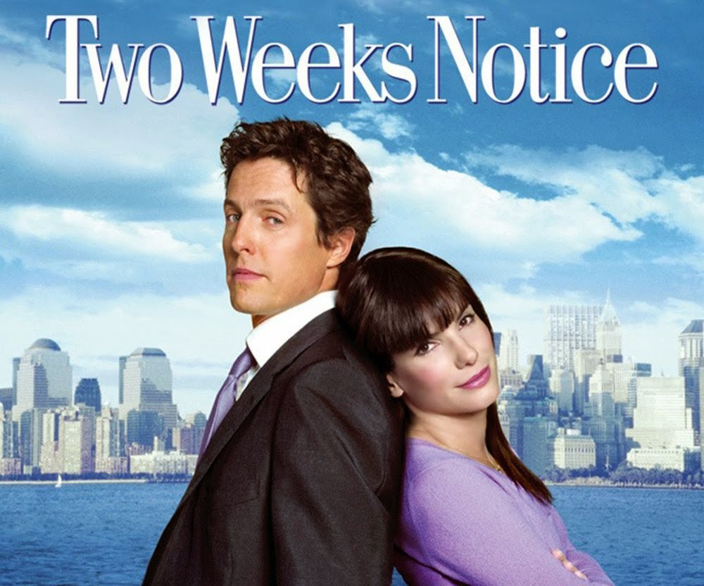 """Two Weeks Notice"" movie review"