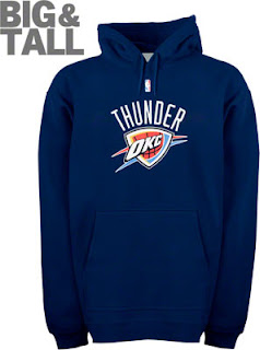 Big and Tall Oklahoma City Thunder Sweatshirt