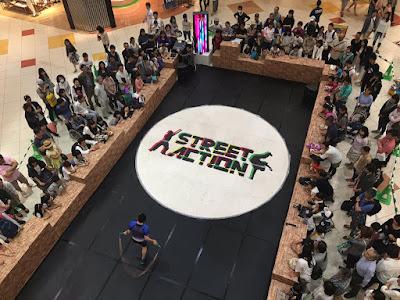 花の広場スポーツイベント 2Days 『みんなで跳ぼう!レイクタウンなわとび祭り!』なわとびパフォーマーSADA & J-TRAP
