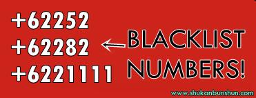 nomor siapa 62252 62282 622111 blacklist