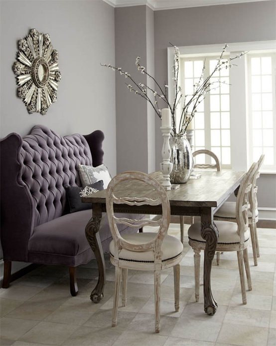 dining chair banquette bench settee chair table modern ...