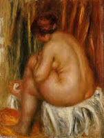 After the Bath by August Renoir