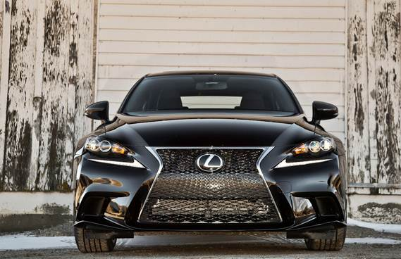 2016 Lexus IS F Sport Concept