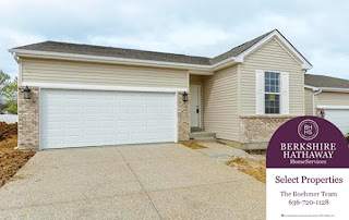 New Villa Home With Pool for sale in Wentzville, Missouri