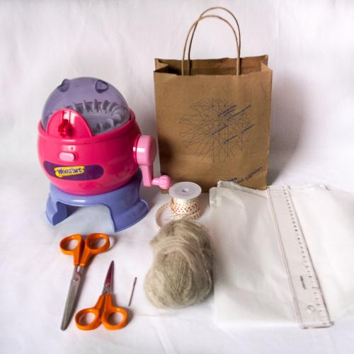 matériel pour tricoter le calendrier de l'avent