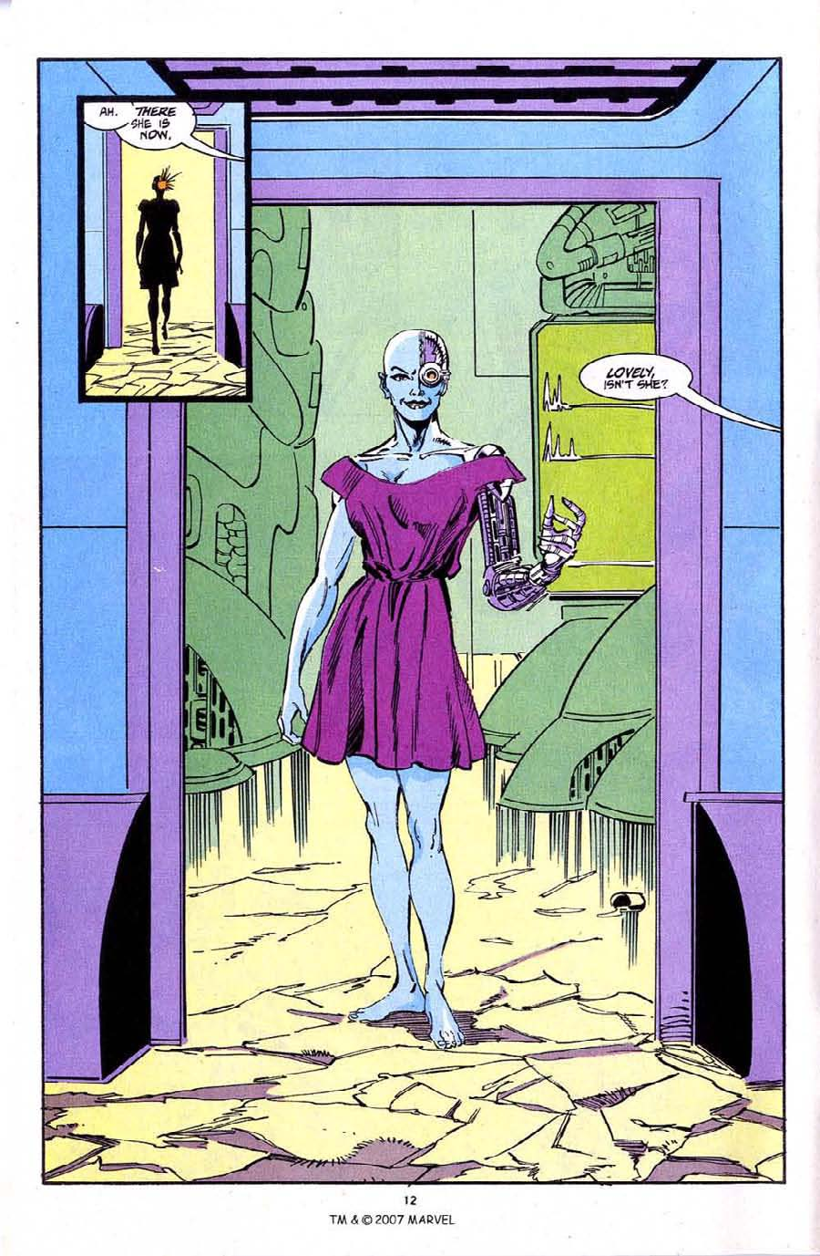 Read online Silver Surfer (1987) comic -  Issue #72 - 14