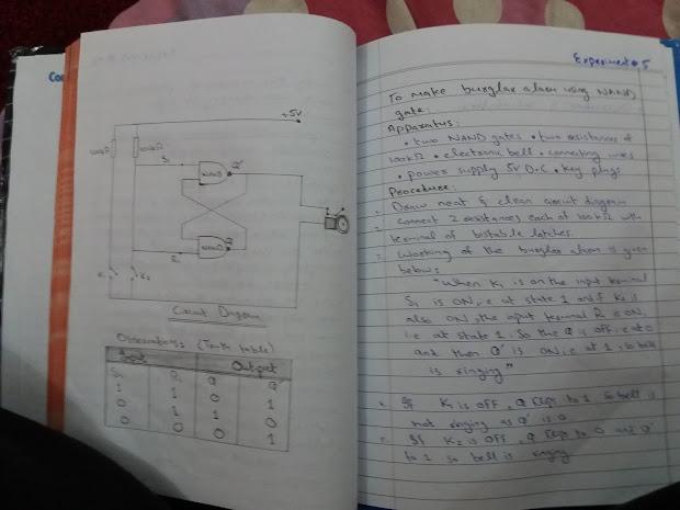 Physics Practical Notebook 12 - Exploring Mars