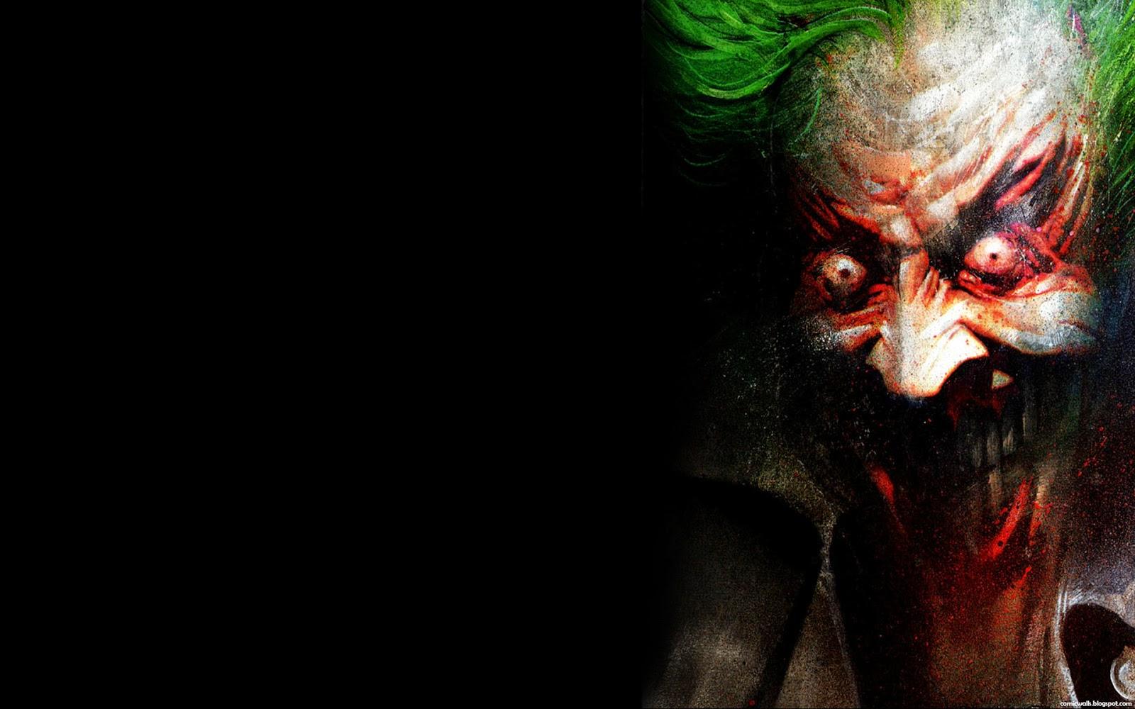 The Joker Arkham Asylum (Comic Wallpaper)