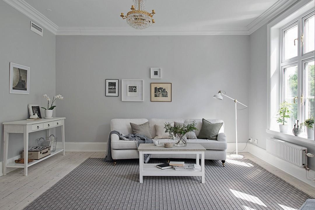 D couvrir l 39 endroit du d cor jolie association de couleurs blanc bleu beige 1 - Deco huizen ...