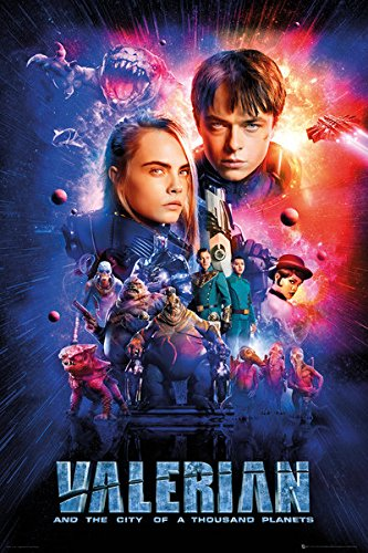 Valerian and the City of a Thousand Planets [2017] [DVDR] [NTSC] [Latino]