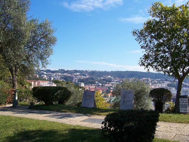 Miradouro do Penedo da Saudade em Coimbra