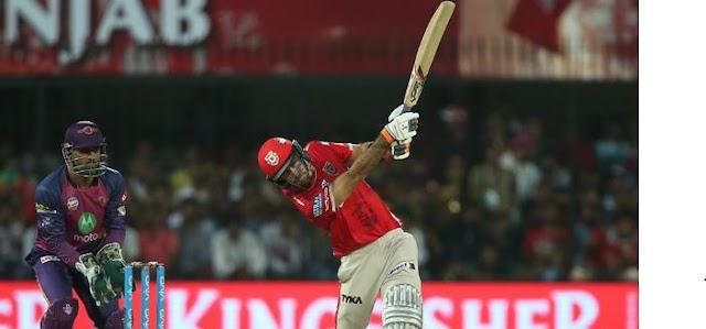 IPL 10 - मैक्सवेल का धमाल - पंजाब ने पुणे को 6 विकेट से हराया