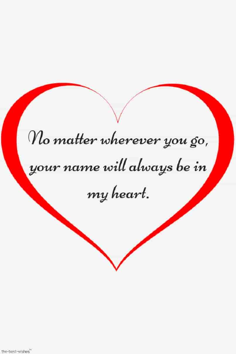 love quotes with heart