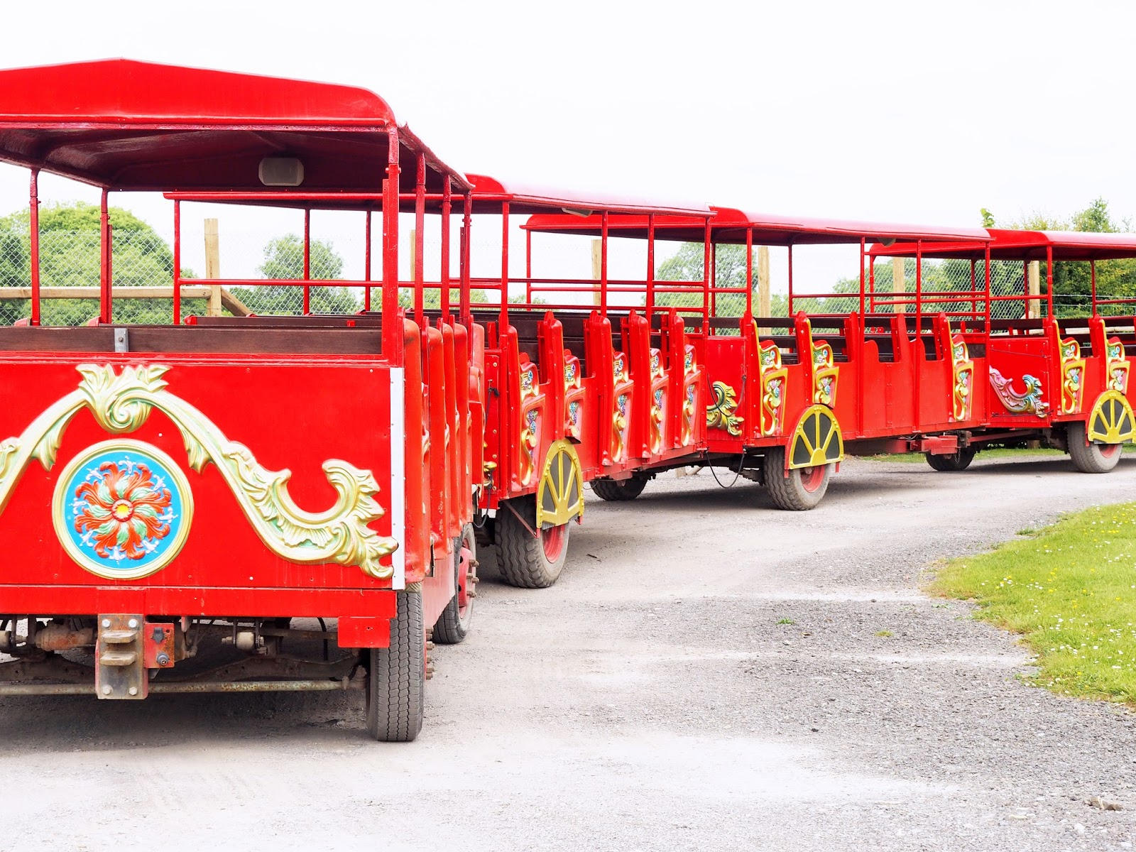 Tractor Train Rides : Folly farm it s not just for kids reinventing neesha