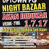 Uptown PG Night Bazaar bermula Julai 2017