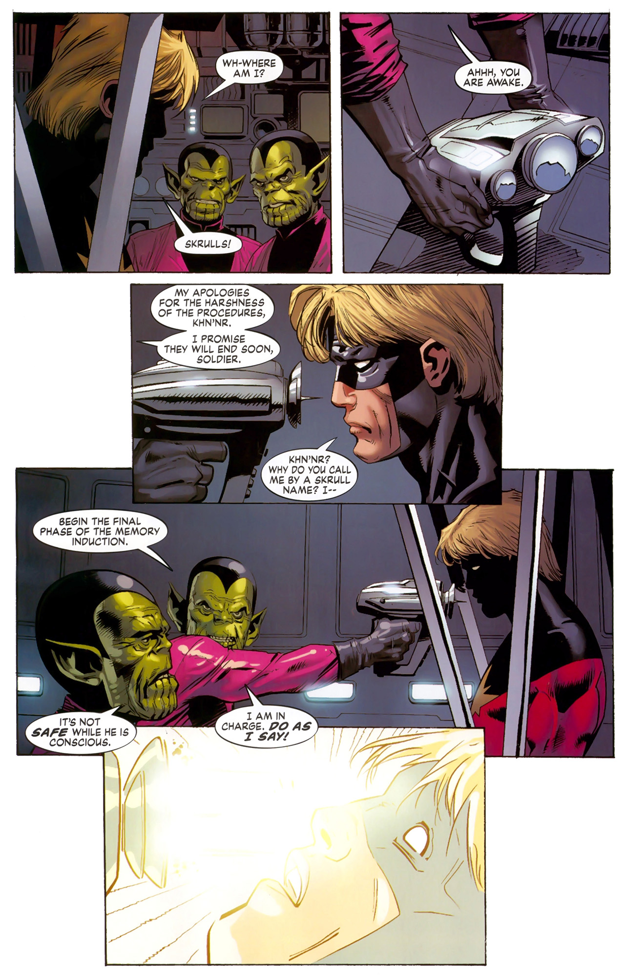 Read online Secret Invasion: The Infiltration comic -  Issue #6 - 9