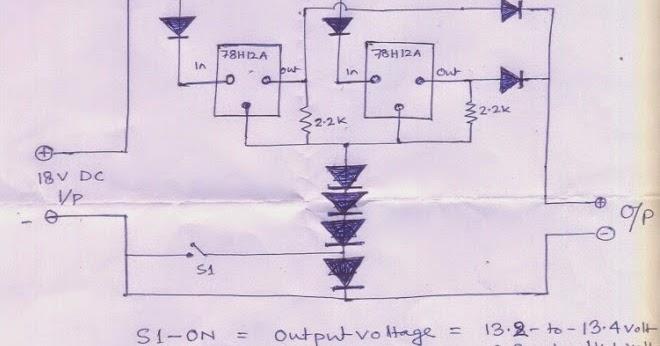 12V 100AH Battery Charger Circuit   Circuit Diagram Centre