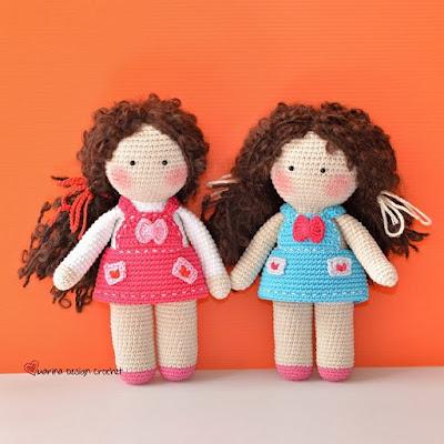 Вязаная кукла амигуруми
