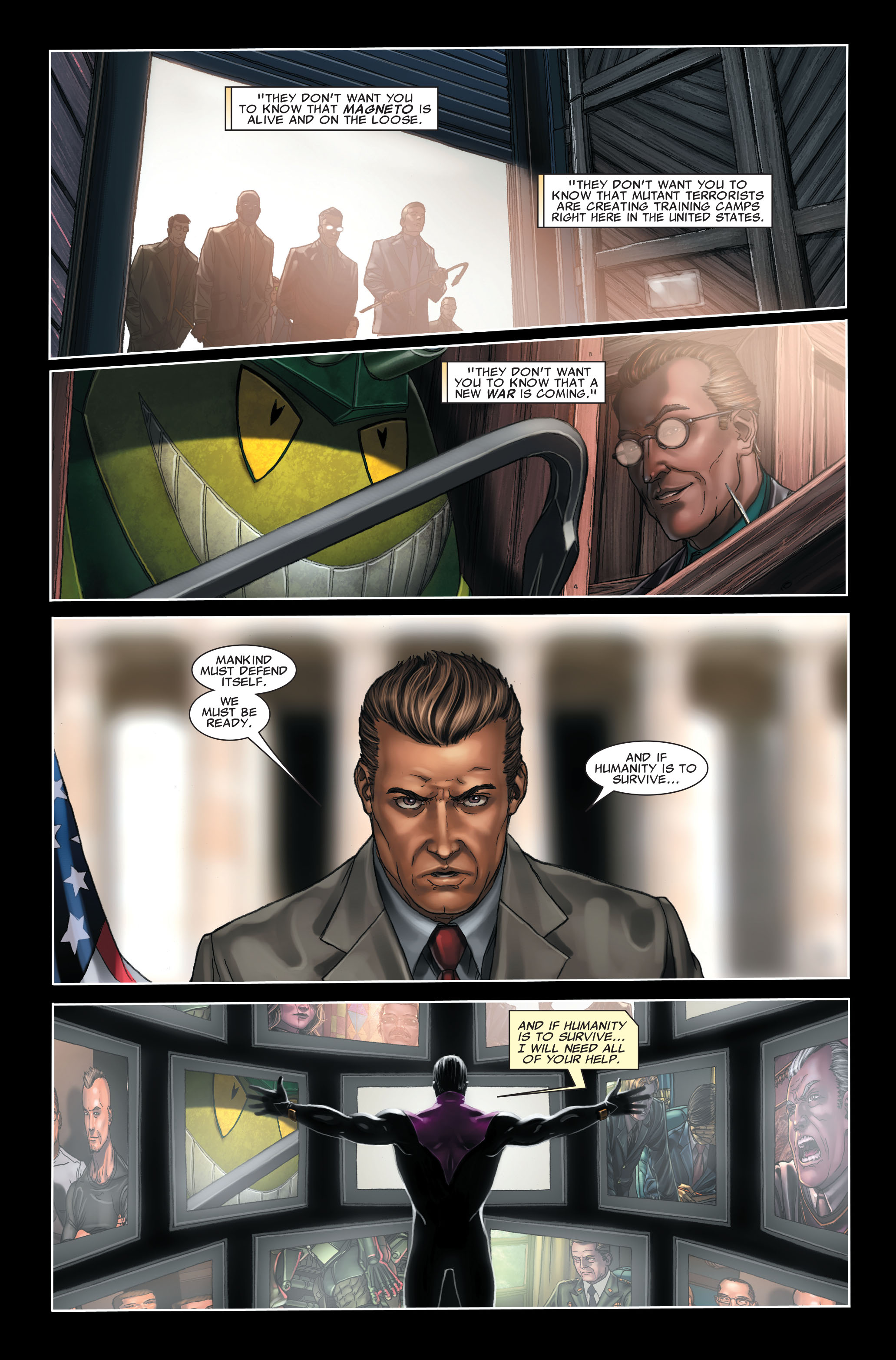 Read online X-Force (2008) comic -  Issue #7 - 20