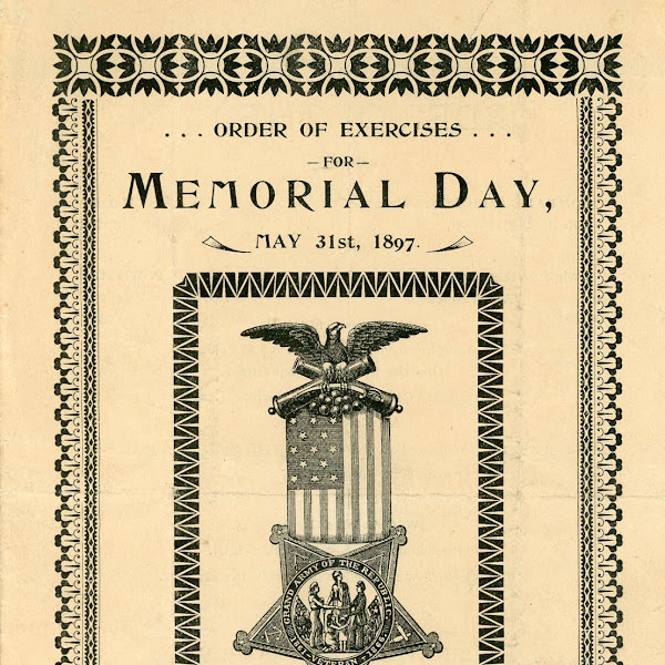 What Did A #FarmingtonNH 1897 Memorial Day Booklet Look Like?