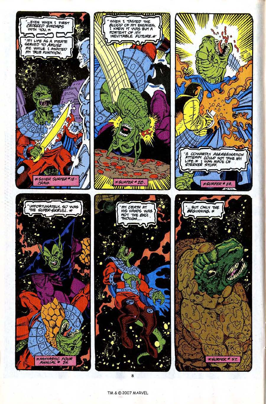 Read online Silver Surfer (1987) comic -  Issue #65 - 10