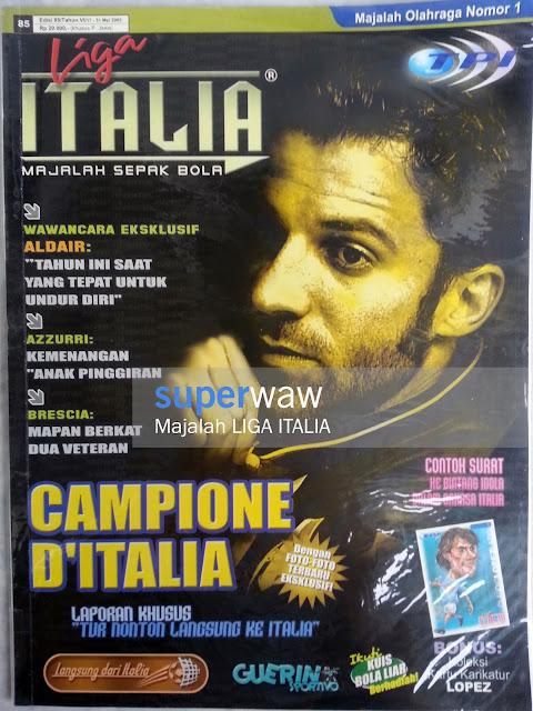 Majalah Liga Italia CAMPIONE D'ITALIA