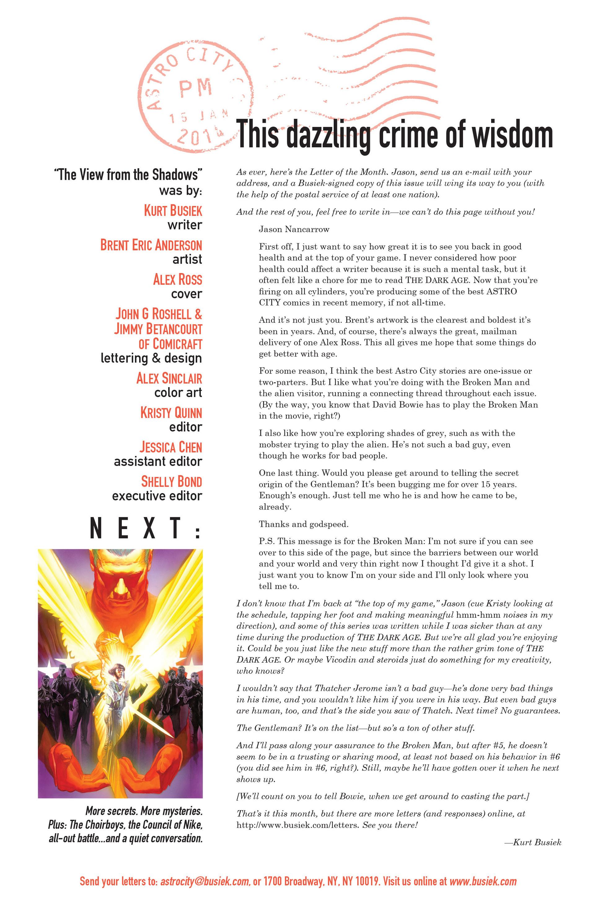 Read online Astro City comic -  Issue #8 - 25
