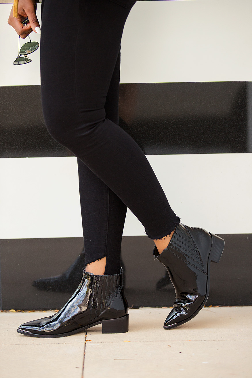 Easy weekend look, ankle boots, www.jadore-fashion.com