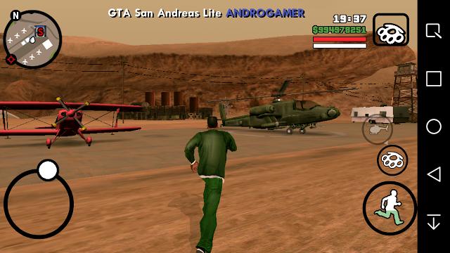 Download GTA San Andreas Lite v5 (Apk+Data) Android GPU Mali