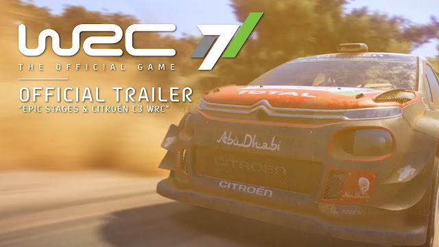 Citroën C3 World Rally WCR 7 game