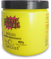 Composição (Ingredientes) da Máscara Super Hidratante da linha Super Poderes da The Secret