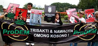 Gerakan Ramai-Ramai Tinggalkan Jokowi