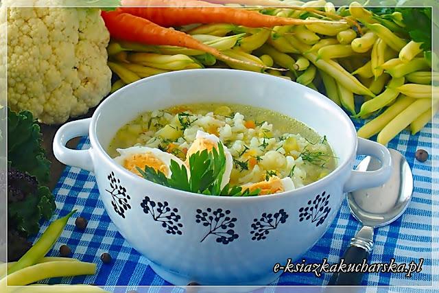 najlepsza domowa zupa jarzynowa