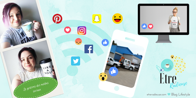 #LaVraieVie: La gestion des médias sociaux