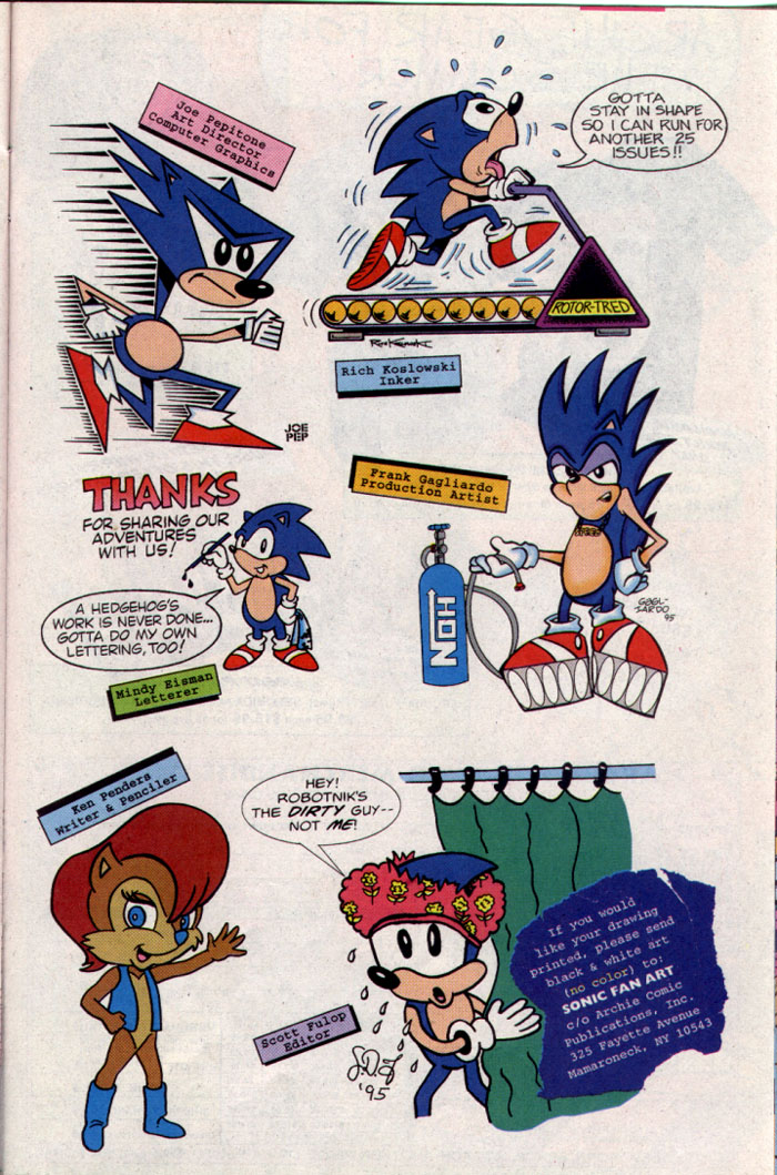 Read online Sonic The Hedgehog comic -  Issue #25 - 19