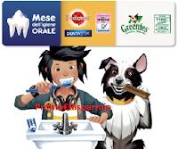 Logo ''Mese Igiene Orale 2019'' : vinci 70 buoni da 100€ per prodotti igiene orale per il tuo cane!