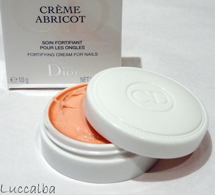 Crème Abricot de Dior
