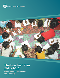 Five Year Plan 2011–2016 Summary of Achievements and Learning