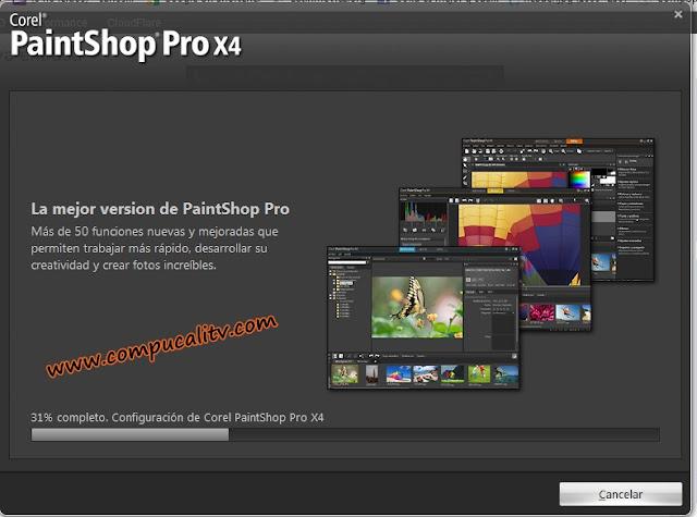 Corel PaintShop Pro X4 v14 SP2 Español Descargar 1 Link 2012