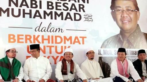 Anies Ajak Para Jemaah Teladani Empat Sifat Nabi Muhammad